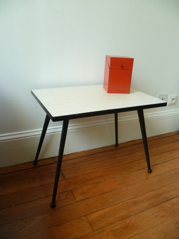 Table basse formica ann es 1960 - Table basse scandinave annee 50 ...