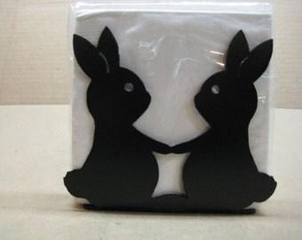 Bunny Napkin Holder Letter Holder