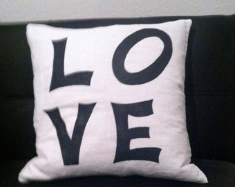 Love Message Pillow
