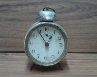 "Rare Vintage Alarm Clock KIENZLE Made in Germany in 1930's, Old German Clock ""Kienzle"", Collectable alarm clock, Gift Idea"