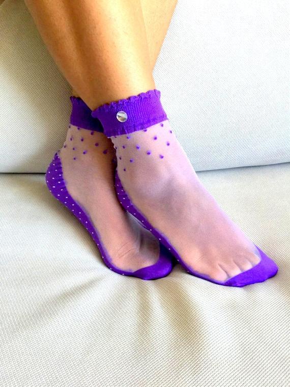 Color Nylon Socks You 84