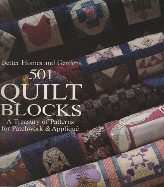 Better Homes And Gardens 501 Quilt Blocks A Treasury Of