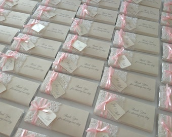 Personalised Chocolates - Wedding bonbonniere