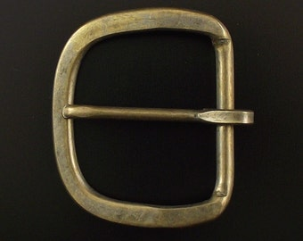 "ONE to FIVE 1.5"" Antique Brass Mechanical Buckle"