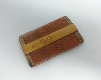 Vintage Japanese Hair Comb