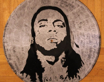 Lil Wayne on Vinyl Record