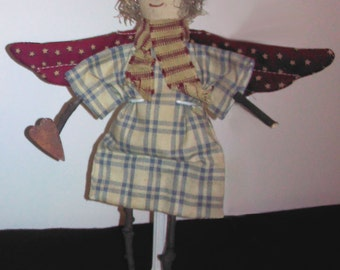 Country Angel Twig Doll