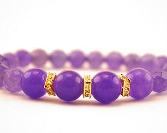 Alexandrite Jewelry - Alexandrite Bracelet - Alexandrite Beads - Birthstone Jewelry - Birthstone Bracelet - June Birthstone - Gift for Her