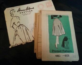 Vintage Anne Adams Skirt Pattern 4862