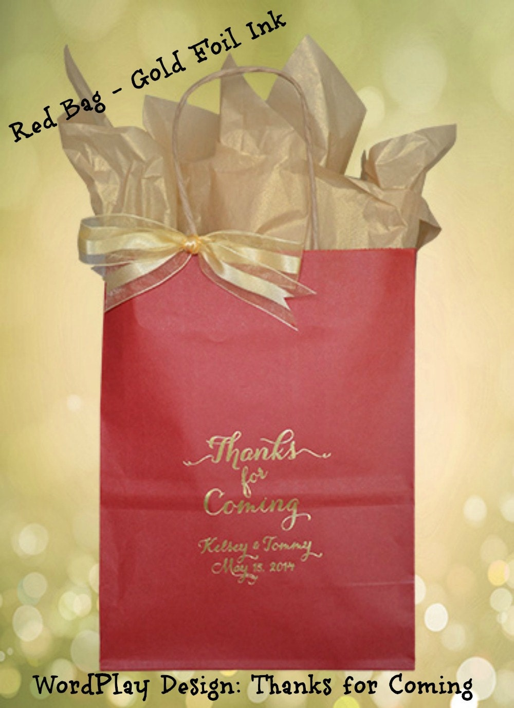 Gift bag wedding
