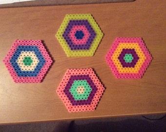 Multicolor coasters