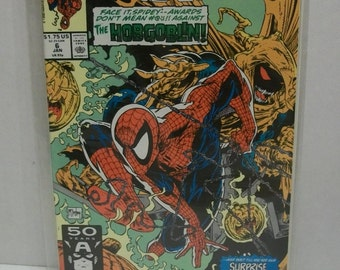 1991 Spider-Man #6  Jan  Surprise Guest Star VF-NM Unread Condition  Todd McFarlane Vintage Marvel Comic Book