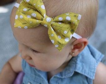Mustard berry baby girls ow headband