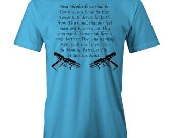 The BOONDOCK Saints - Irish Prayers T-shirt  Movie Inspired