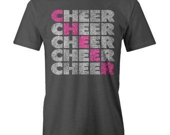 Cheer Block Bling T-Shirt Funny