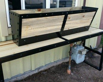 INDUSTRIAL FLOWER BOX