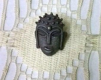 Vintage Queen's Mask Button