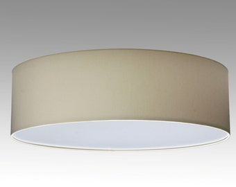 Ceiling lamp, D.60 cm, H.20 cm, individual colour