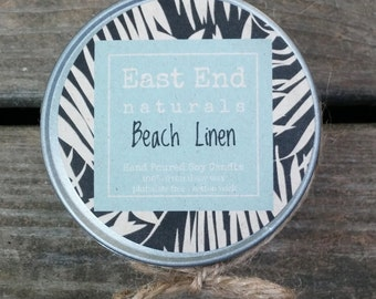 Beach Linen Scented Soy Candle (4 oz.)