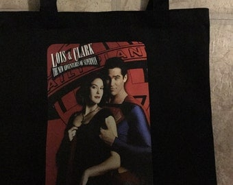 Lois and Clark Small Tote Bag