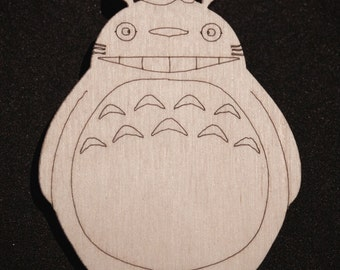 Totoro brooch (My Neighbor Totoro)