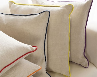 Add Piping to your Pillow