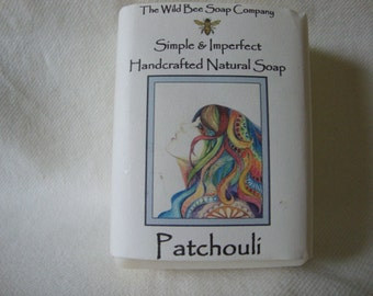 Patchouli Soap, Handcrafted Soap, Natural Soap, Soap, Cold Process Soap, Patchouli, Bar Soap, Soap, Bath & Body, Patchouli oil
