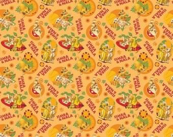 Disney Simba and Nala Lion King Fabric