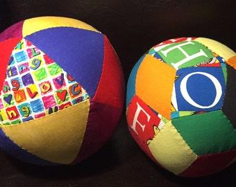 Alphabet puzzle balls!