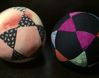 Five pointed star puzzle balls!