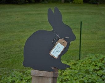 Handmade Chalkboard Rabbit