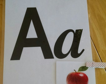 All 26 Alphabet Letters- Educational- Bunting