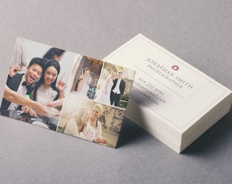 Business Card Template - Photographer Business Card - Photoshop Templates BC003
