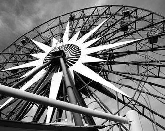Under Mickey's Fun Wheel, California Adventure