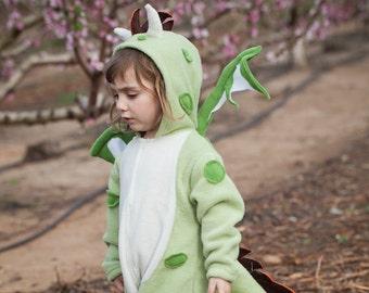 Dragon Costume/ Baby halloween Costume/ Toddler Costume/ Kids Costume