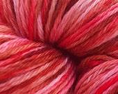 Cherry Cordial Hand-dyed Tonal Merino Wool 436 Yards
