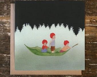 Setting Sail - Christmas Card