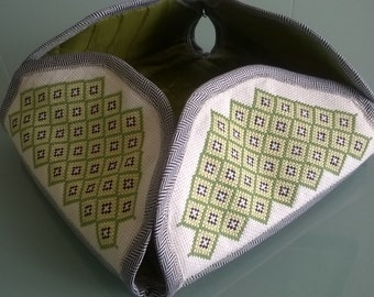 Embroidered kitchen gadgets