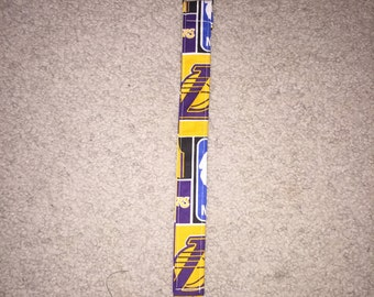 Lakers Pacifier Clip, Pacifier holder, Lakers