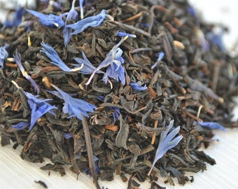 Blue Earl Grey Organic (Black Tea)