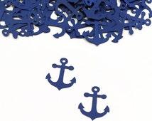 Anchor Confetti | Nautical Baby Shower | Nautical Wedding | Summer Birthday | Summer Baby | Pirate Party | Anchor Decor | Boating Decor
