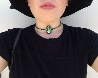 Maleficent Crystal Choker