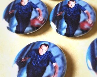 """The Take a Nixon Bowling 1"""" Button"""