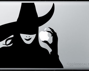 Witch All MacBooks  Vinyl Stickers, Skin, Decal