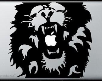 Lion Roar All MacBooks  Vinyl Stickers, Skin, Decal