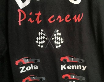 Dad's Pit Crew T-Shirt S-XL