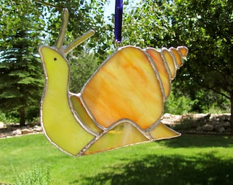 Stained Glass Snail