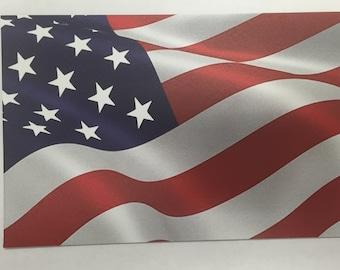 "Waving American Flag - 4""x6"" Car/Fridge/Mailbox Magnet"