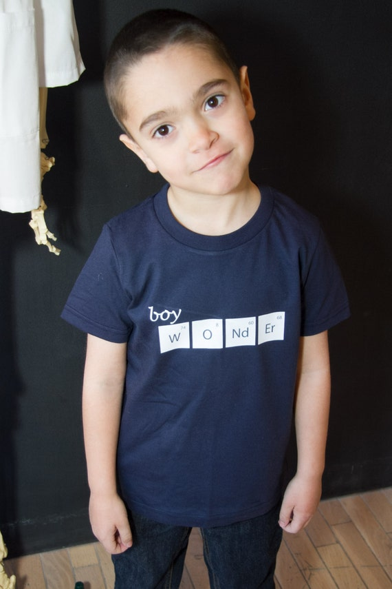 Boy wonder chemistry t shirt for Wonder boy t shirt