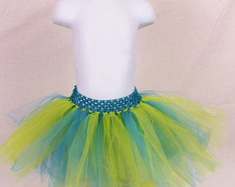 Blue and Green tutu